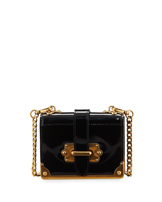 30f0c5023b06 Prada Micro Spazzolato Cahier | Neiman Marcus