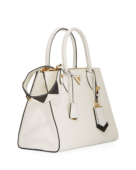 Prada Paradigme Saffiano Leather Bag in White $2399.99 @ Costco Canada Online