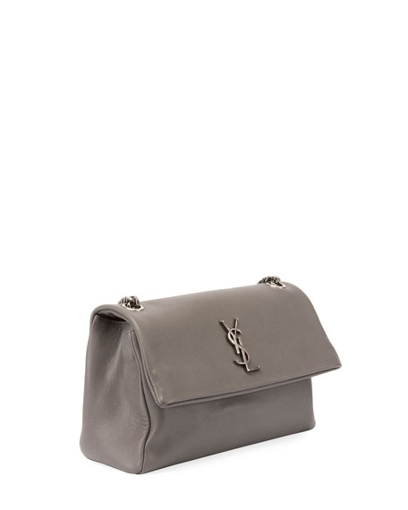 """West Hollywood Monogram Shoulder Bag, 7.1"""""""