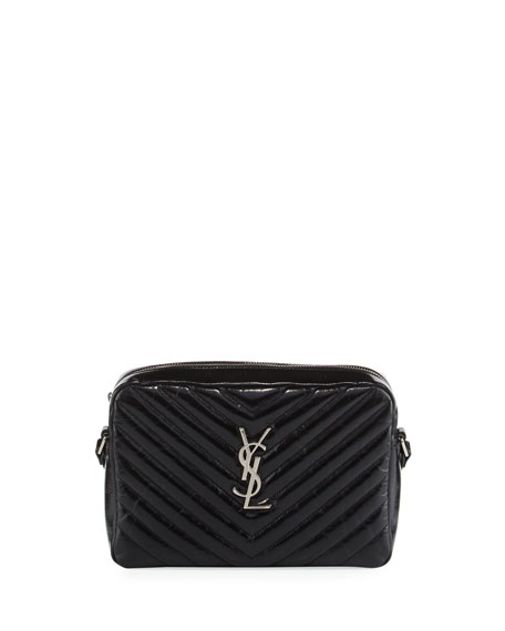 Saint Laurent Loulou Monogram Medium Quilted Crossbody Bag