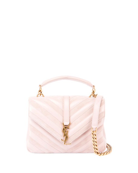 Saint Laurent Monogram College Medium Shoulder Bag