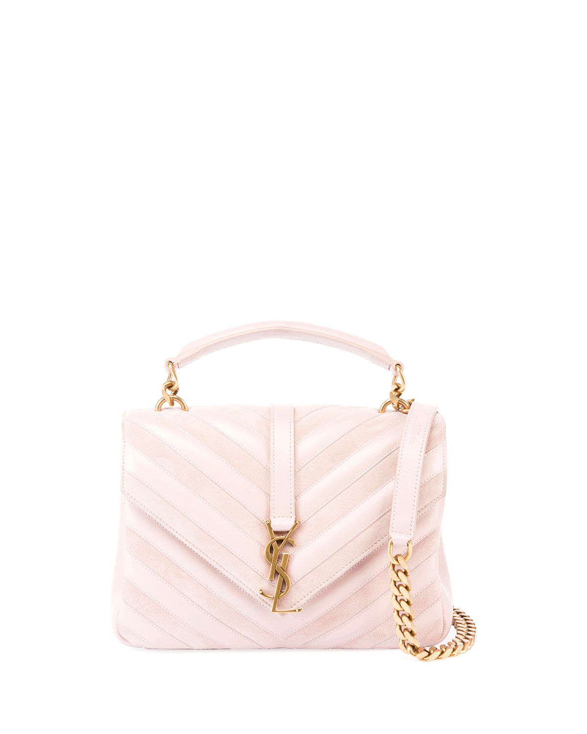 b7f8da132733 Saint Laurent Monogram College Medium Shoulder Bag