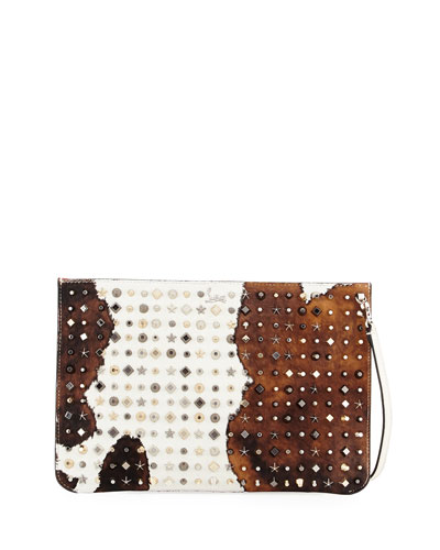 Loubiclutch Cowboy Clutch Bag