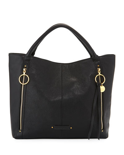 Lana Large Leather Tote Bag