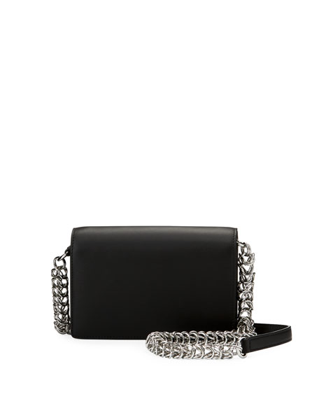 Alexander Wang Attica Biker Smooth Calf Shoulder Bag