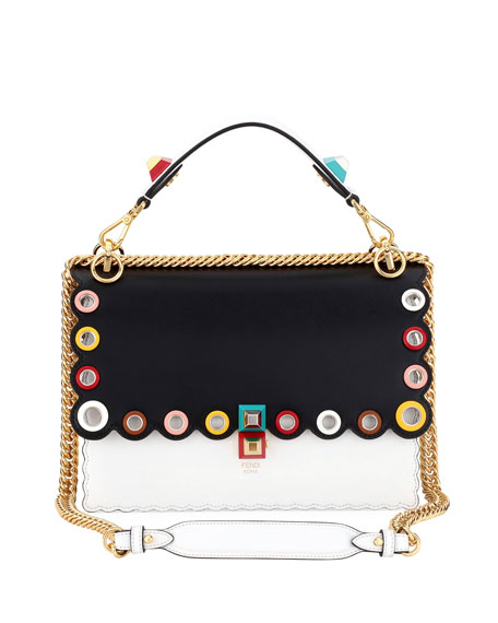 Fendi Kan I Medium Grommet Shoulder Bag