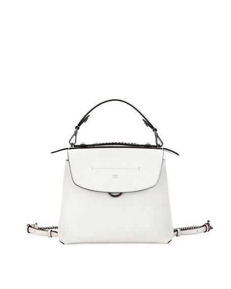Fendi Back to School Leather Backpack/Crossbody Bag