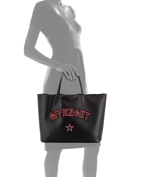 Antigona Large Gothic Calf Shopper Tote Bag