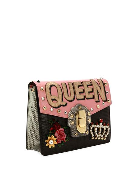 Lucia Queen Embellished Shoulder Bag