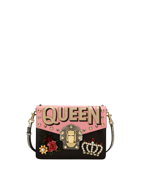 Lucia Queen Embellished Shoulder Bag