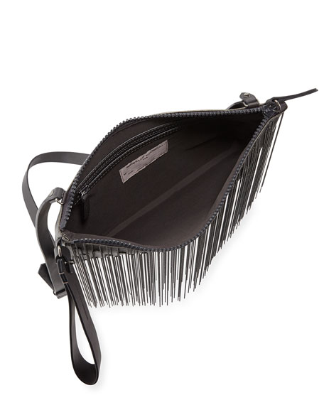 Monili Waterfall Medium Crossbody Pouch  Bag