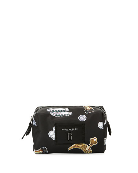 Marc Jacobs Large Tossed Charms Cosmetics Bag