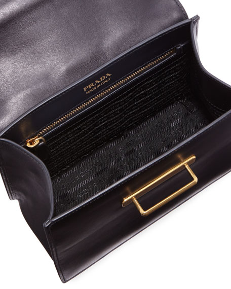 Cahier Medium Calf Leather Crossbody Bag