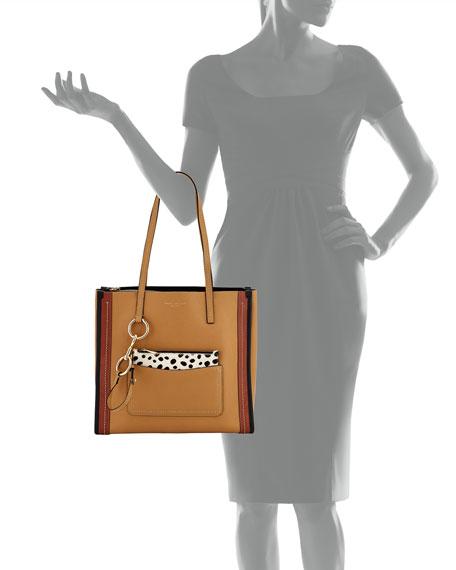 The Dalmatian Grind East-West Shopper Tote Bag