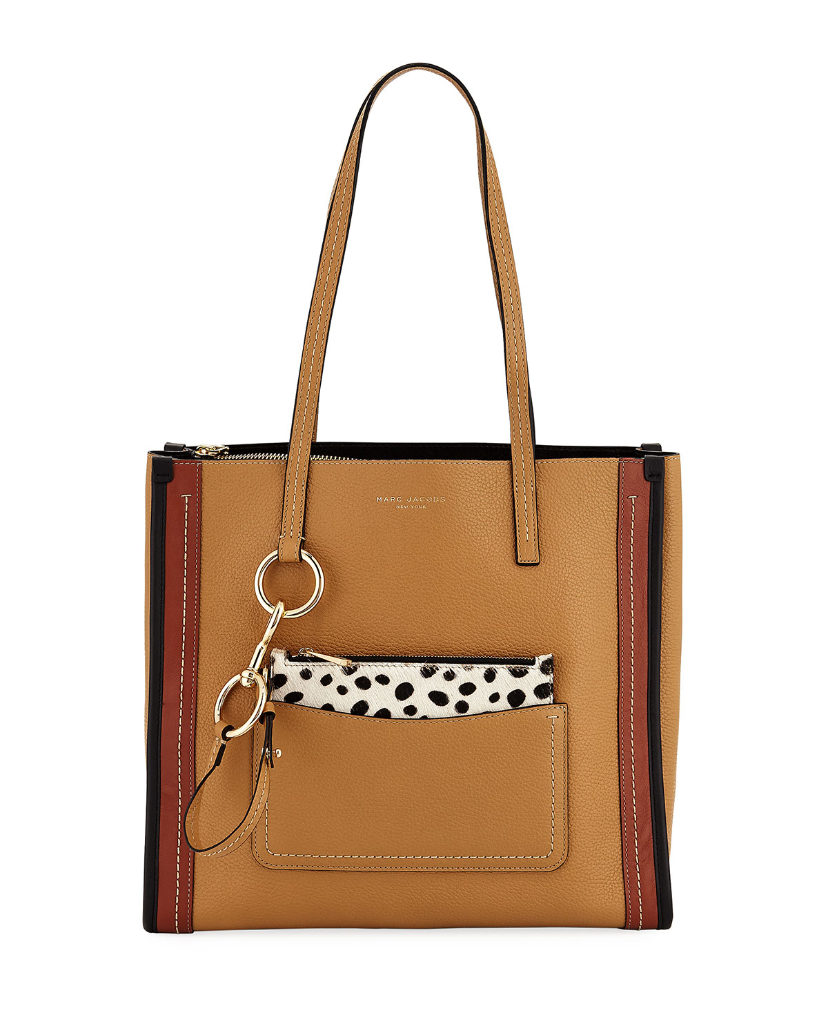 adc1111b1675 Marc Jacobs The Dalmatian Grind East-West Shopper Tote Bag