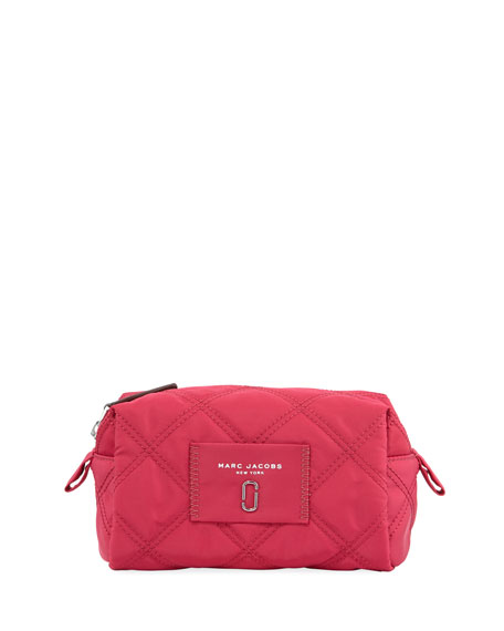 Nylon Knot Large Cosmetics Bag