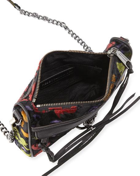 Mac Mini Velvet Crossbody Bag