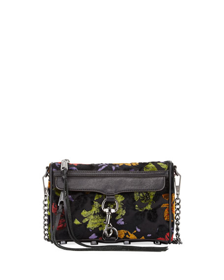 Rebecca Minkoff Mac Mini Velvet Crossbody Bag