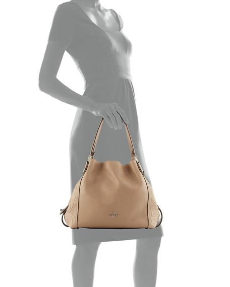 Edie 31 Tea Rose Shoulder Bag