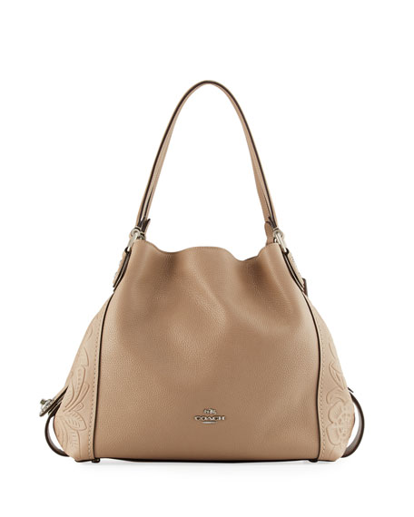 Coach Edie 31 Tea Rose Shoulder Bag