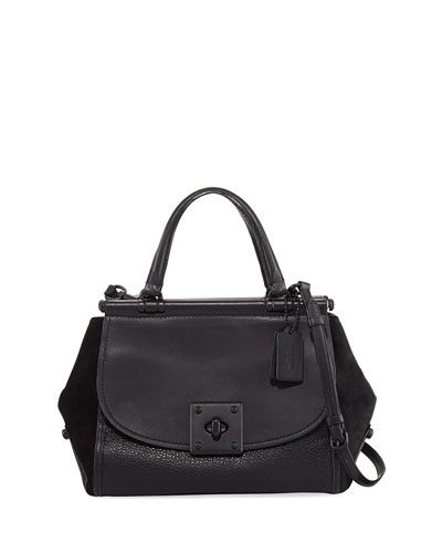 Drifter Large Mixed Leather Carryall Bag