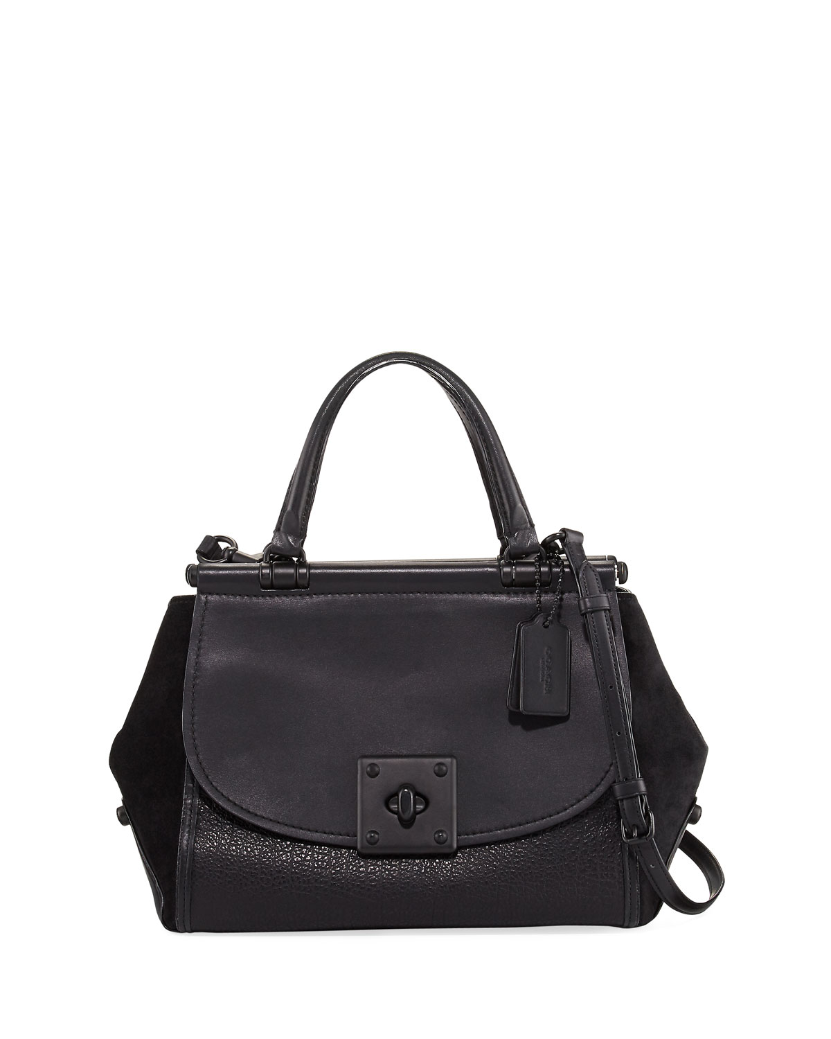 Coach Drifter Large Mixed Leather Carryall Bag  2414ef974d9a7