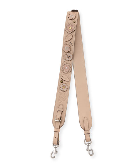 Coach Tea Rose Tooling Novelty Strap