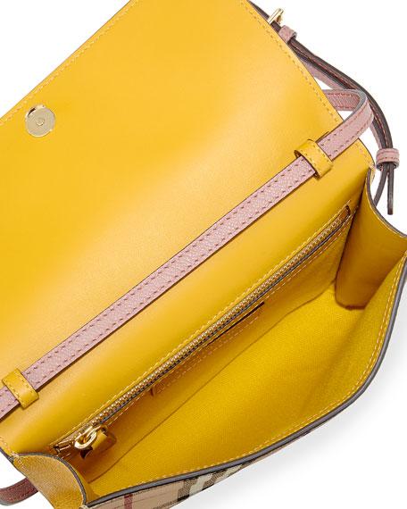 Loxley Haymarket Small Shoulder Bag, Red Pattern