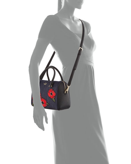 cameron street poppy large lane satchel bag