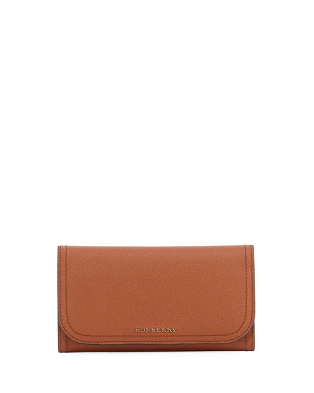 Burberry Kenton Haymarket Soft Grain Leather Wallet