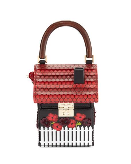 Kate spade new york ooh la la cuckoo clock handbag multi junglespirit Gallery