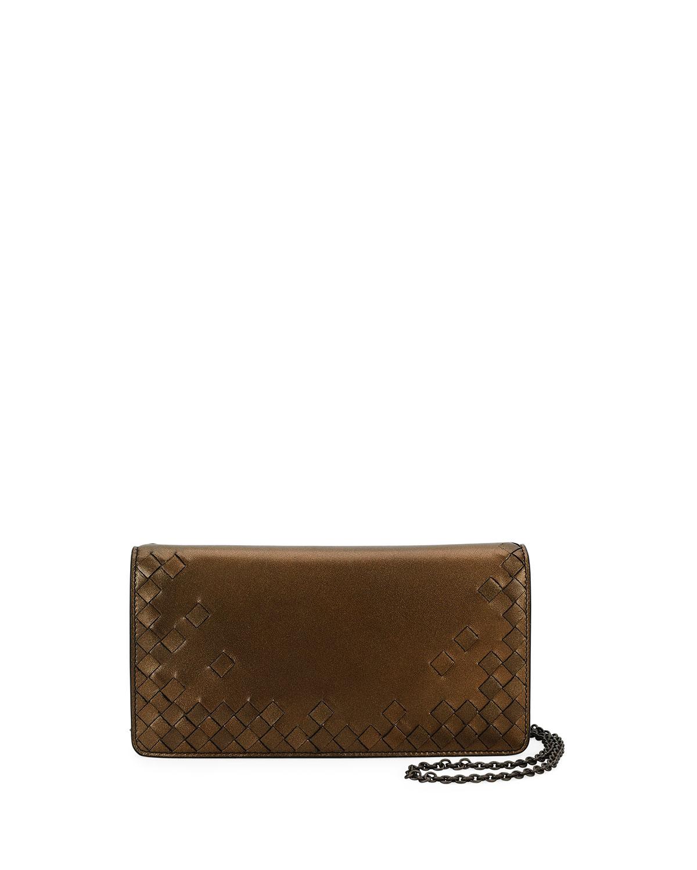 aec7f7d235ba Bottega Veneta Intrecciato Flap Antique Napa Wallet-on-Chain ...