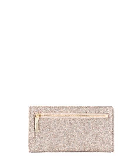 burgess court stacy glitter wallet