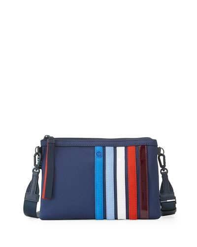 Patchwork Zip Crossbody Bag