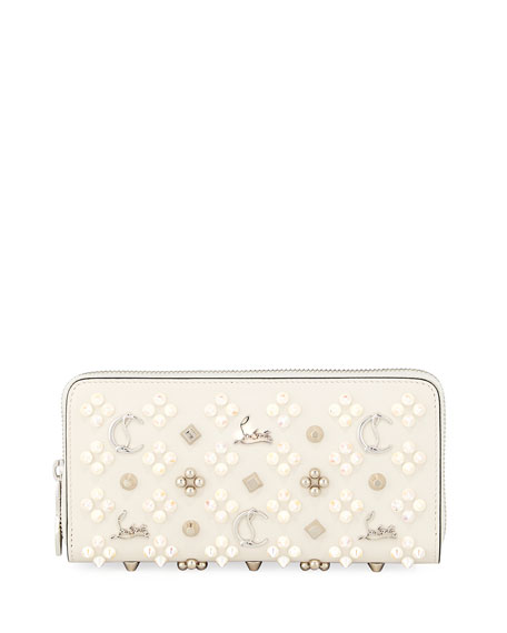 Christian Louboutin Panettone Embellished Zip Wallet