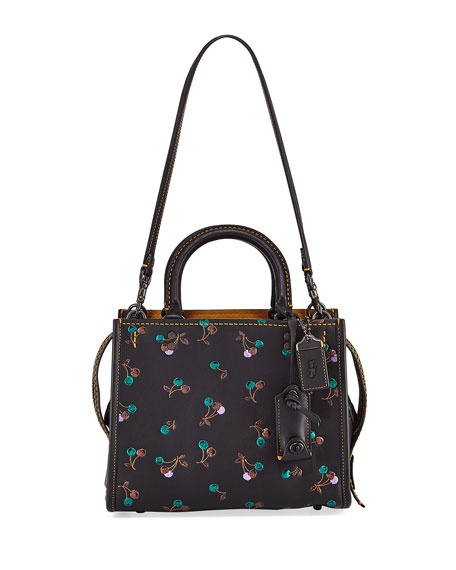 Coach 1941 Rogue Cherries Small Tote Bag