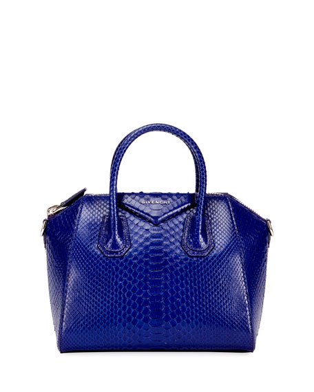 Givenchy Antigona Bag Leather With Snakeskin Mini From 2017 P7qQvb