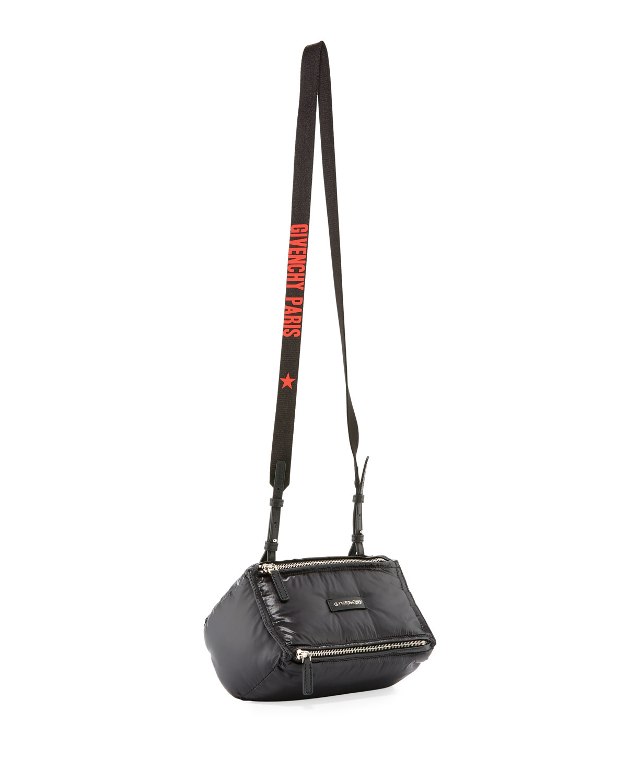 40f2b11938 Givenchy Pandora Mini Nylon Crossbody Bag