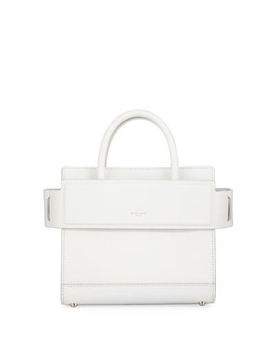 Mini Horizon Leather Tote Bag