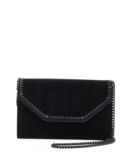Stella McCartney Falabella Eco Alter Velvet Box Clutch
