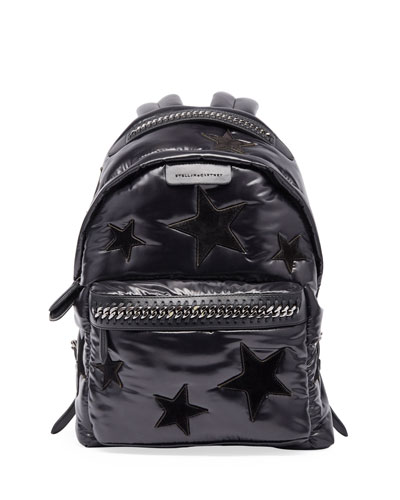 All Over Stars Falabella Backpack