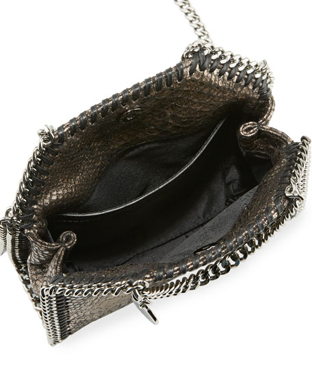 Falabella Tiny Metallic Shoulder Bag