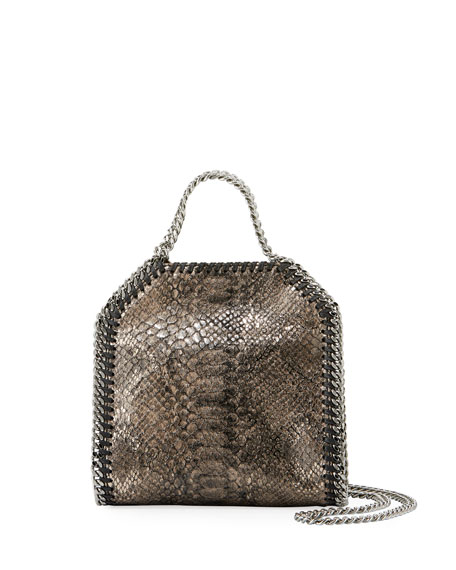 Stella McCartney Falabella Tiny Metallic Shoulder Bag