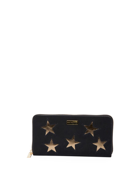 Stella McCartney Stars wallet KkytDdqL