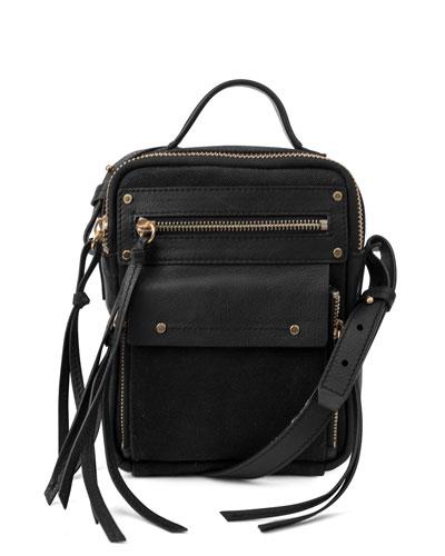 Phoenix Crossbody Camera Bag, Black