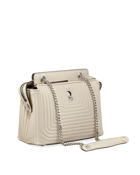 Dotcom Click Small Quilted Chain Shoulder Bag