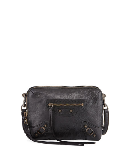 Balenciaga Classic Reporter XS Lamb Leather Crossbody Bag
