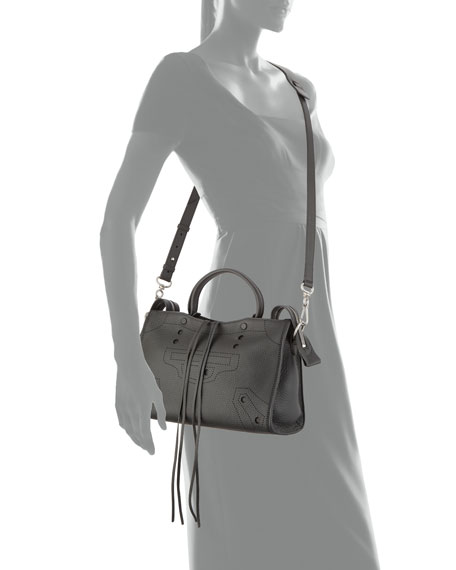 Blackout City Small AJ Tote Bag