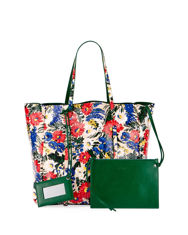 6b8b21c1df Balenciaga Everyday Floral Animation Tote Bag