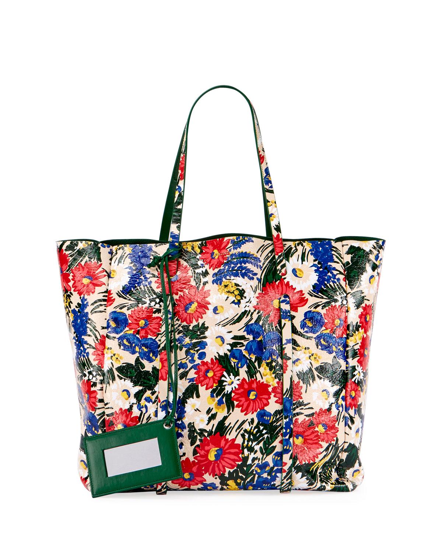 Rebecca Minkoff Heather Large Floral-Print Shoulder Tote Bag 3GE5JKTE